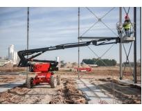 empresa de locação de plataforma elevatória preço em Riviera de São Lourenço