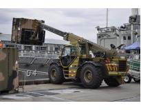 locação de manipulador de container preço em Embu Guaçú