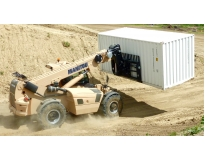 locação de manipulador de container no Parque do Carmo