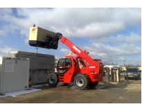 locação de manipuladores de 12 toneladas no Parque Peruche