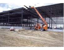 locação de manipuladores de carga com operador e diesel em Belford Roxo