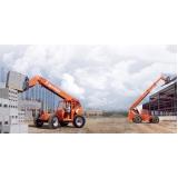 locações manipuladores de carga skytrak Barra Funda