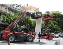 manipulador de cargas telescópico preço em Guarulhos