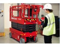 plataforma tesoura a diesel preço na Barra Funda