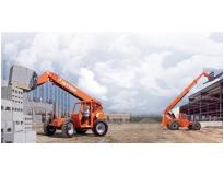 quanto custa locação de manipulador de carga com operador e diesel em Cotia