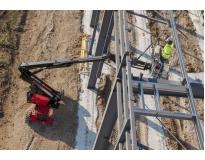 quanto custa plataforma elétrica articulada no Cambuci