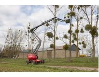 venda de plataforma aérea elétrica em Marapoama