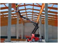 venda de plataforma elétrica 15 metros na Vila Prudente