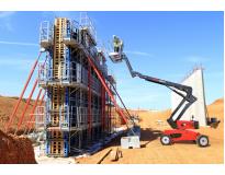 venda de plataformas elétricas 15 metros em Moema